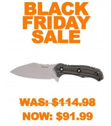Dominator Fixed Blade Knife Green/Black