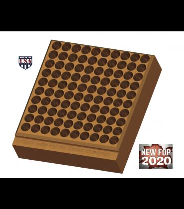 9mm 100 Hole Ammo Checker Block