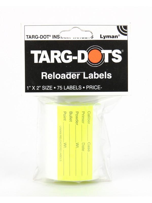 TargDots Reloader's Labels
